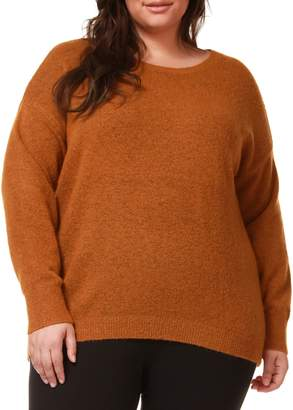 Dex Plus Dropped-Shoulder Sweater