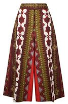 Valentino Cropped Wide Leg Trousers