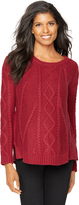 A Pea in the Pod Splendid Cable Knit Maternity Sweater