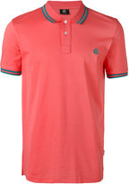 Paul Smith logo embroidered polo shirt - men - Cotton - M
