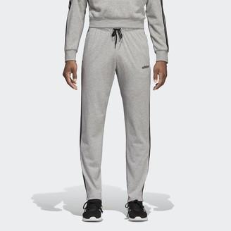 adidas Essentials 3-Stripes Tapered Open Hem Pants