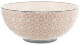Cecile Round Ceramic Serving Bowl