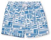 Frescobol Carioca Linha Short-Length Printed Swim Shorts