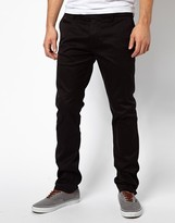 Diesel Chinos Chi Tight E Slim Fit Washed