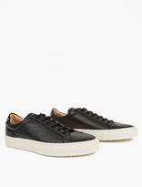 Common Projects Black Premium Achilles Low Sneakers