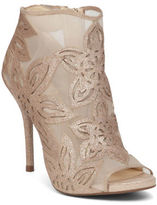 Jessica Simpson Bliths Floral Open-Toe Boots