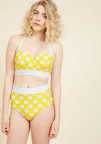 Sunlight Showcase Swimsuit Bottom in Dots in S
