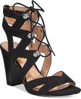 XOXO Barnie Lace-Up Sandals