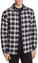 Velvet by Graham & Spencer Velvet Brennon Plaid Fleece Lined Regular Fit Shirt Jacket