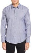 Zachary Prell Men's Wanlass Trim Fit Sport Shirt