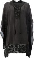 Faith Connexion embroidered tunic - women - Silk/Cotton/Linen/Flax/Polyamide - XS