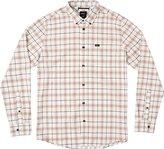 RVCA Men's That'll Do Plaid Long Sleeve Shirt
