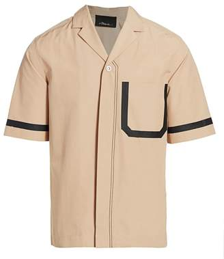3.1 Phillip Lim Notch Lapel Tape Pocket Shirt