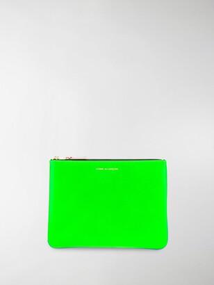 Comme des Garcons Super Fluo wallet
