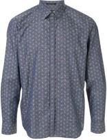 D'urban long-sleeved abstract-print shirt