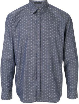 Durban Long-Sleeved Abstract-Print Shirt