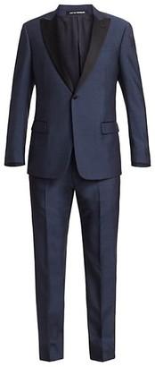 Emporio Armani G Line Silk & Wool Suit
