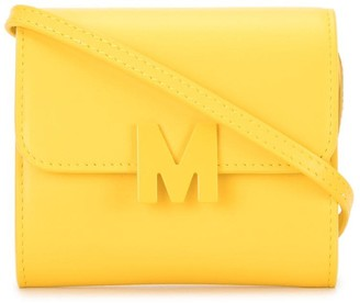 MSGM Logo Applique Crossbody Bag