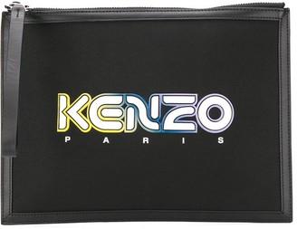 Kenzo Logo Patch Clutch