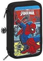 Marvel Spider-Man Ultimate Pencil Cases, 20 cm, Black (Negro)