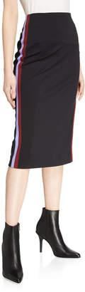 Diane von Furstenberg Miranda Draped Side-Tie Skirt