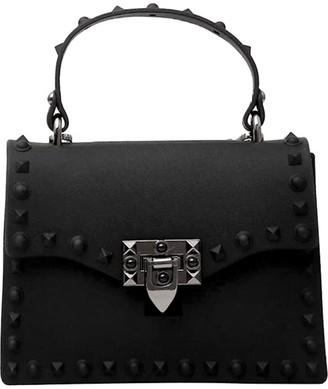 Delayne Dixon Rebel Rich Bag Studded Vegan Leather In Black