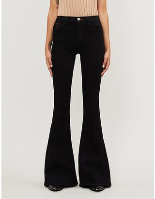 3x1 x Mimi Cuttrell Maxime flared high-rise stretch-denim jeans