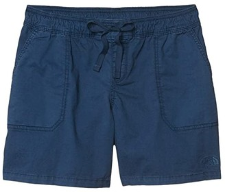The North Face Motion Pull-On Shorts (Blue Wing Teal) Women's Shorts