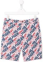 Tommy Hilfiger Junior brand logo shorts