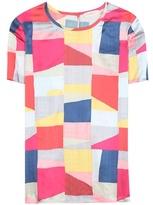 Tory Burch Corinne printed silk top