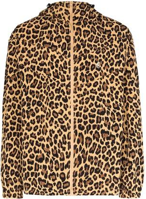 Gramicci Shell leopard print jacket