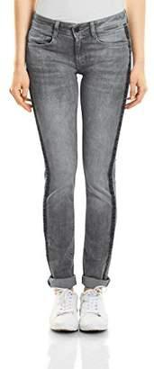 Street One Women's 371240 Jane Slim Jeans, (Heavy Light Grey Washed 11332), 29W x 30L