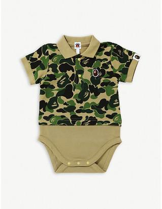 A Bathing Ape ABC Polo cotton bodysuit 6-18 months