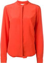 Vanessa Bruno collarless shirt - women - Silk - 36