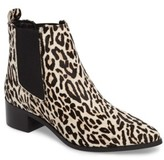 Topshop Women's Amy Rose Genuine Calf Hair Chelsea Boot
