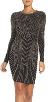 Xscape Evenings Women's Beaded Jersey Body-Con Dress
