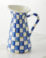 Mackenzie Childs Royal Check Practical Pitcher