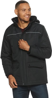 Urban Republic Men's Ballistic Snap Parka