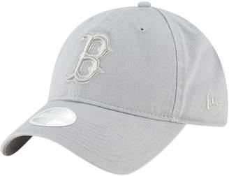 New Era Women's Gray Boston Red Sox Core Classic Twill 9TWENTY Adjustable Hat