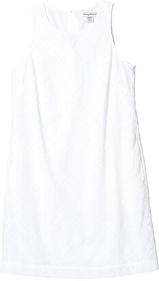 Tommy Bahama Villa View Short Dress (White) Women's Clothing
