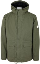 Norse Projects Nunk Army Green Waxed Cotton Jacket