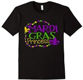 Mardi Gras Princess Shirt Daughter Kids Girly Girls School