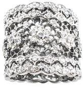 Jarin K Jewelry - Oxidized Floral Filigree Ring