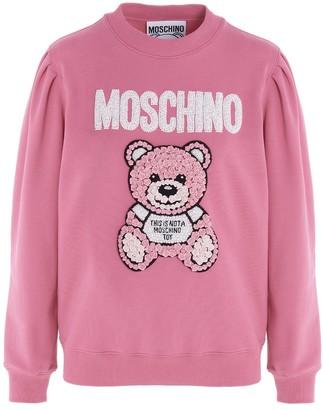 Moschino Bear Motif Sweatshirt