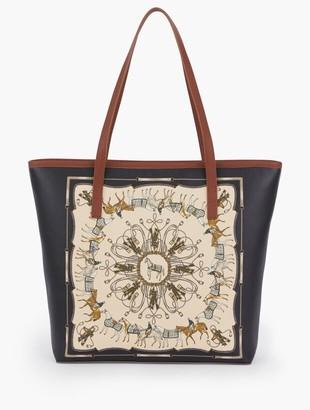 Talbots Trotting Horse Tote Bag