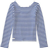 Ralph Lauren Striped Scoop-Back Top