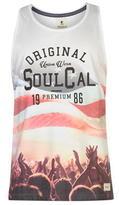 Soulcal Usa Flag Vest