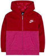 Nike Toddler Girl Printed Front Zip-Up Club Hoodie
