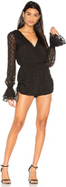 Finders Keepers Ryder Romper in Black