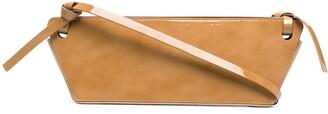 REJINA PYO Ramona patent leather bag